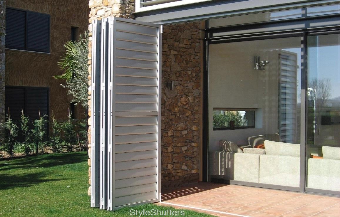 aluminium shutters schuifpui